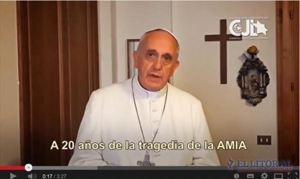 El mensaje del Papa:
