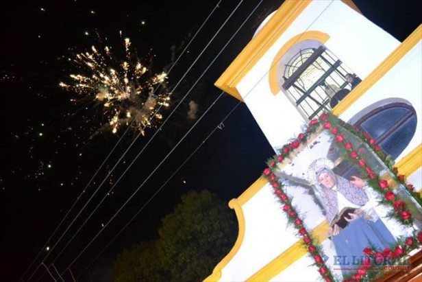 Santa Ana rinde honores a su patrona