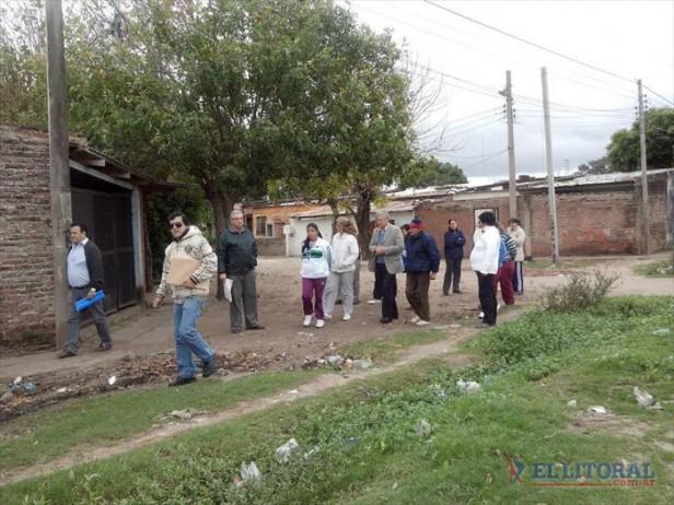 Buscarán regularizar zonas de los barrios Punta Taitalo, Popular y Sol de Mayo