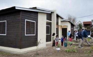 Hoy entregarán cuatro nuevas viviendas sociales en La Chola