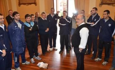 El Gobernador recibió a los campeones del Argentino