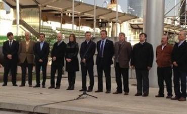 Sin representantes del Gobierno, Macri encabezó la apertura de la Exposición Rural de Palermo