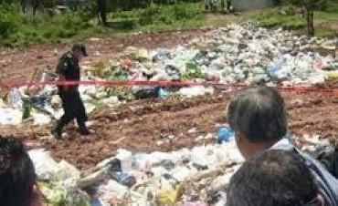 Hallan feto en un basurero municipal en Virasoro