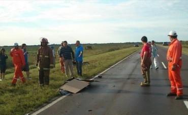 Joven motociclista muere en un choque frontal cerca de las 4 Bocas de Saladas