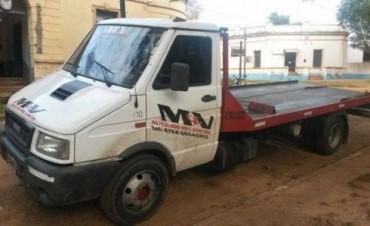 La Cruz: detienen un camión que fue robado en Buenos Aires