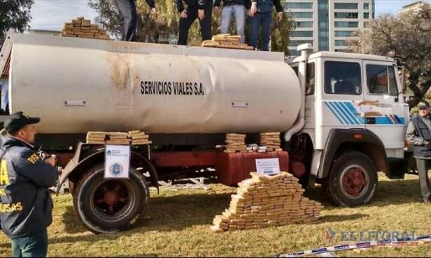 La droga hallada en Virasoro iba a ser distribuida en 3 villas de Buenos Aires