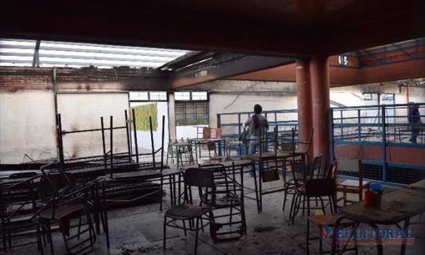 Liceo Ferré: mañana habrá clases por grupos, mientras, evalúan cómo seguir la próxima semana