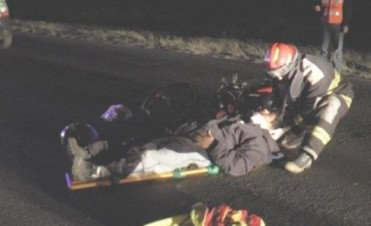 Murió ciclista al ser atropellado por un motociclista en Goya