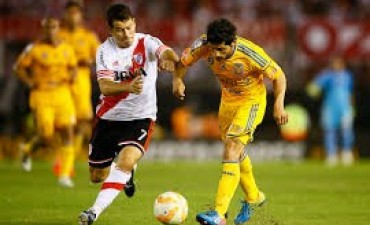 River juega ante Tigres el partido de ida de la final de la Copa Libertadores