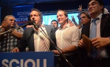 """Scioli habló de compartir el podio con Camau: """"El en la Provincia y yo en Nación"""""""