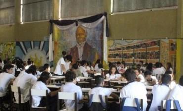 Obras en el Liceo Ferré: la jornada escolar se compactó a sólo dos horas por curso