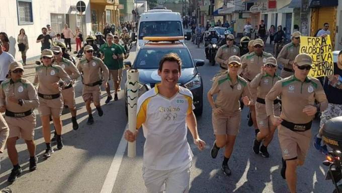 """Crismanich y la antorcha: """"Sentí que llevaba la bandera argentina"""""""