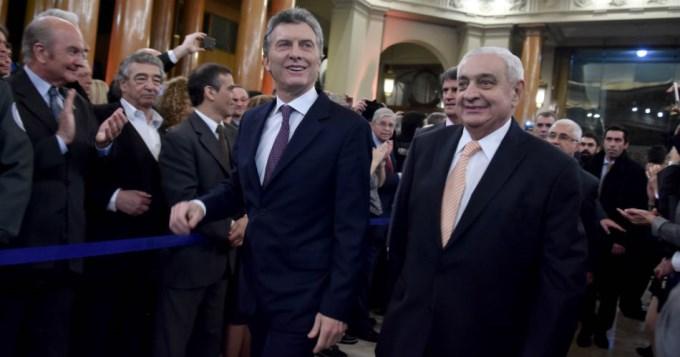 Macri en la Bolsa: