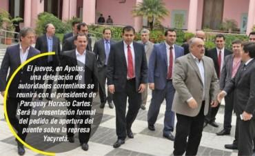 Colombi se reunió con autoridades paraguayas y gestionaron obras