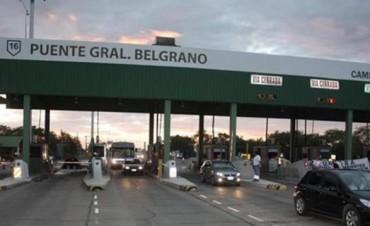 Multaron por 4 millones a la concesionaria del peaje Chaco - Corrientes