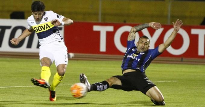 Boca se durmió y perdió con altura en Quito