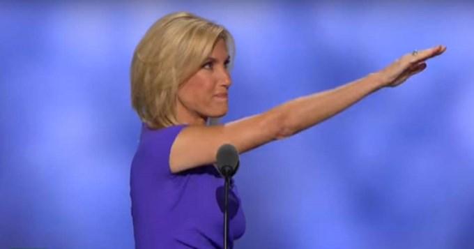 Figura republicana alabó a Trump haciendo saludo nazi