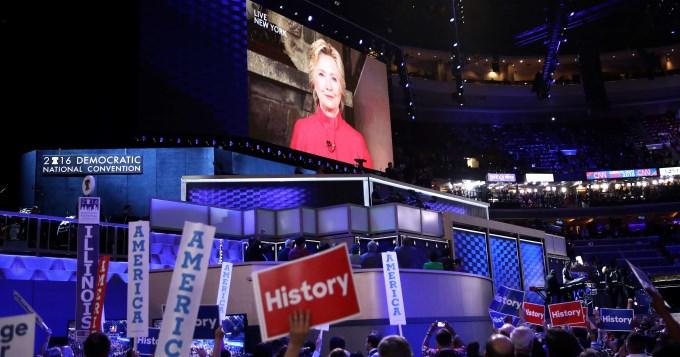 Hillary disputará la presidencia con Trump