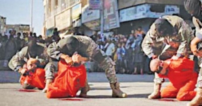Horror sin límites: El ISIS decapitó a tres futbolistas
