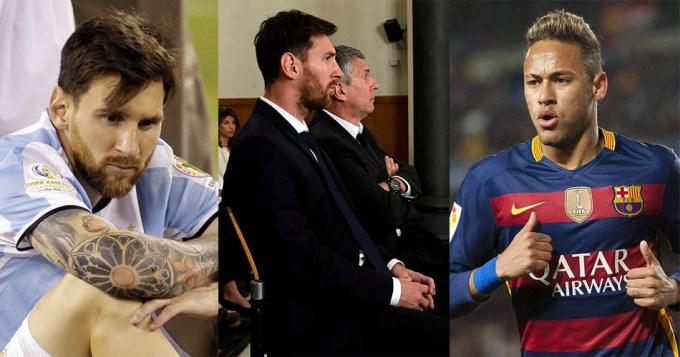 Para que no se vaya, el Barsa mejora el contrato a Messi