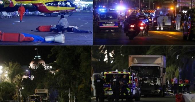 Sangriento video de las muertes en Niza