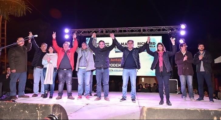 Juntos Podemos Más inició campaña con gran acto en San Luis del Palmar
