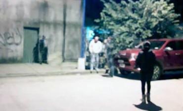 Mercedes, robaron una caja fuerte y la Policía los atrapó cuando escapaban en un carro