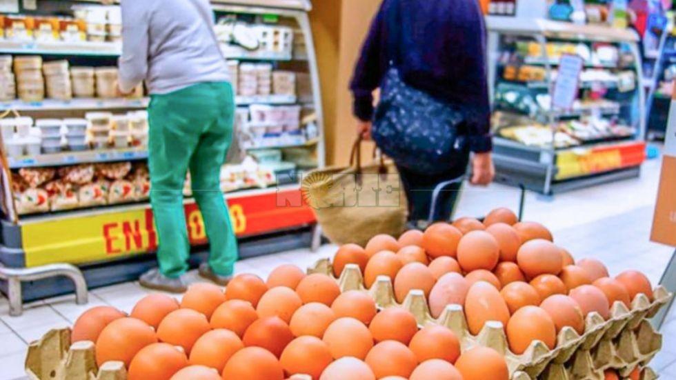 El precio del huevo marca la secuela inflacionaria que demora en disiparse