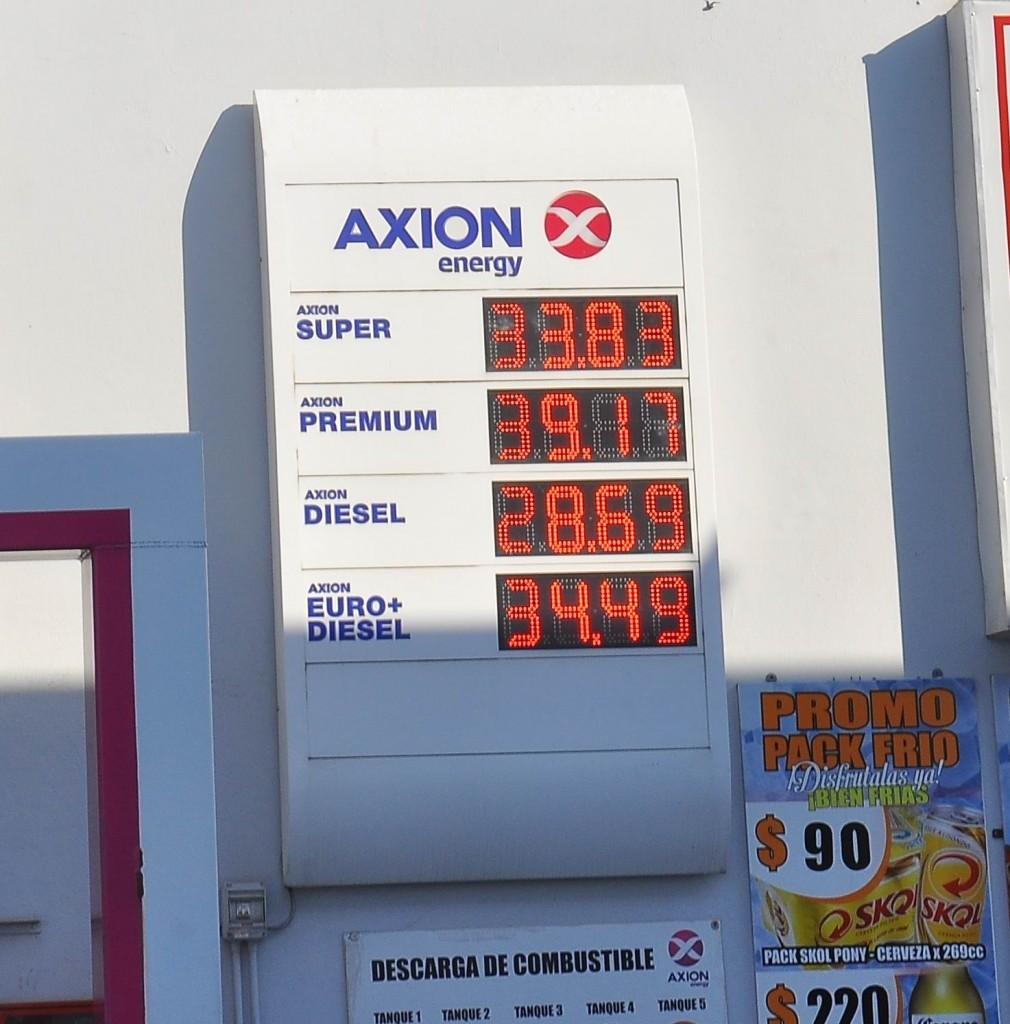 """Axión llevó su premium a $39,17; estaciones """"blancas"""" aducen crisis"""