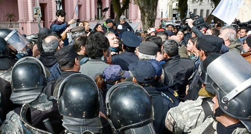 Acompañamiento de Suteco a la marcha en Buenos Aires