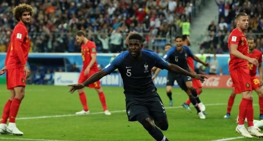 Francia derrotó a Bélgica y jugará el domingo su tercera final en un Mundial