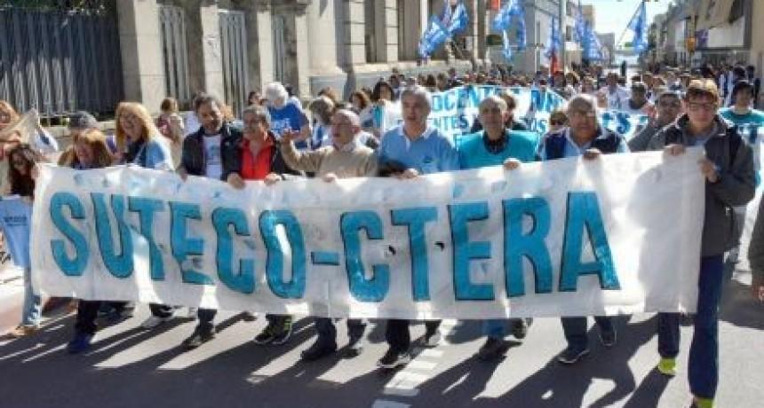 El Suteco se suma a la jornada nacional de protesta por aumentos salariales