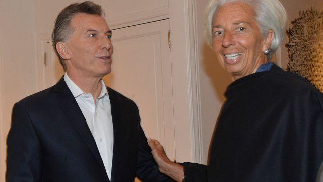 Macri cenó en Olivos con Christine Lagarde