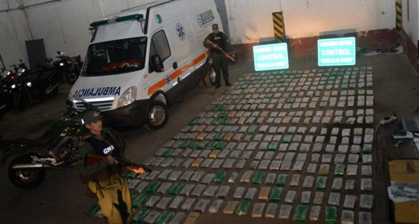 Con casi 400 kilos de droga, detuvieron a una banda narco liderada por un médico