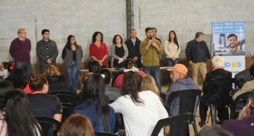 Frente de Todos: alistan la visita de Alberto Fernández
