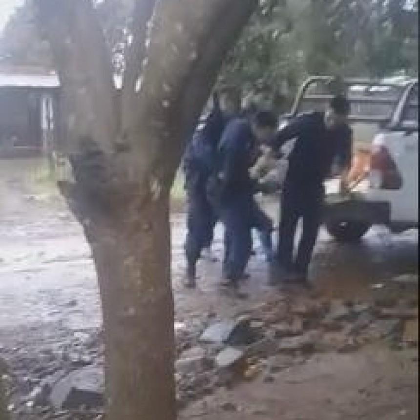 Virasoro: con machete resistió ser detenido e hirió a un uniformado
