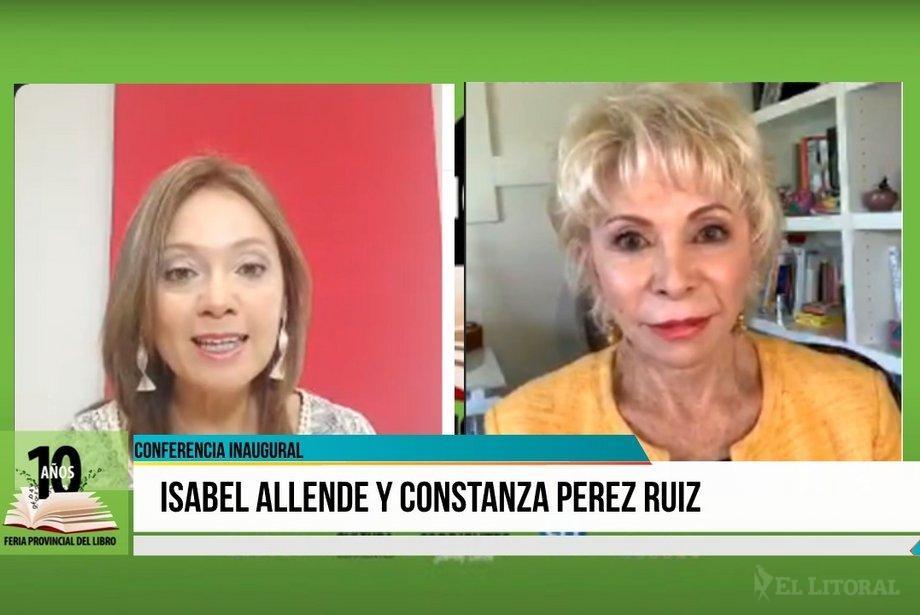 Isabel Allende inauguró la edición online de la Feria Provincial del Libro