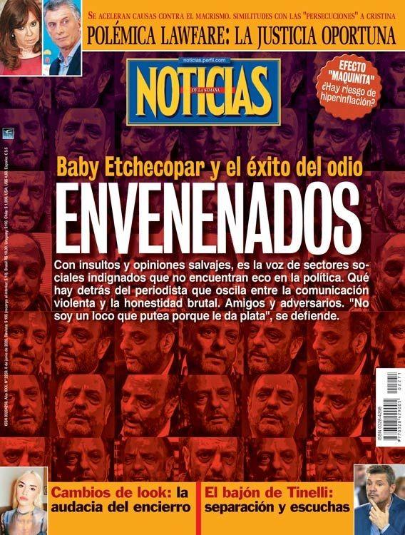 Envenenados: Baby Etchecopar y el éxito del odio