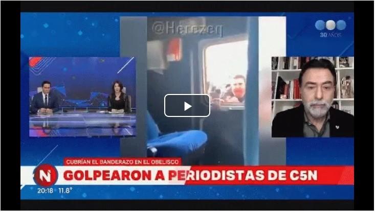 Contrapunto entre Sietecase y Cristina Pérez por una frase de Alberto