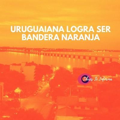 Uruguaiana logra continuar como Bandera Naranja ante el Covid-19