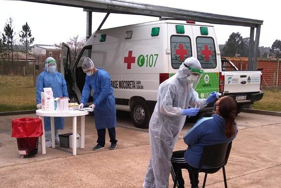 Refuerzan una investigación epidemiológica por coronavirus en Corrientes