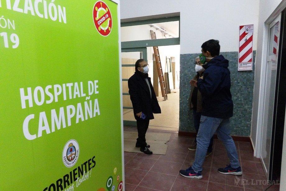 Coronavirus: preocupación por un paciente grave en Corrientes