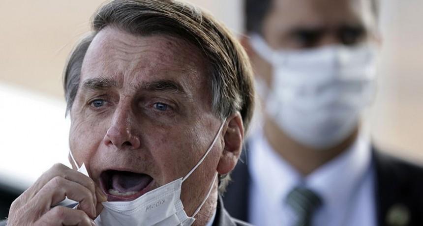Brasil: Jair Bolsonaro confirmó que dio positivo a coronavirus