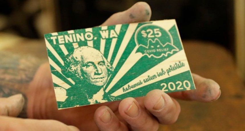 Los patacones llegaron a EEUU: un pueblo imprimió su propia moneda por la crisis del coronavirus