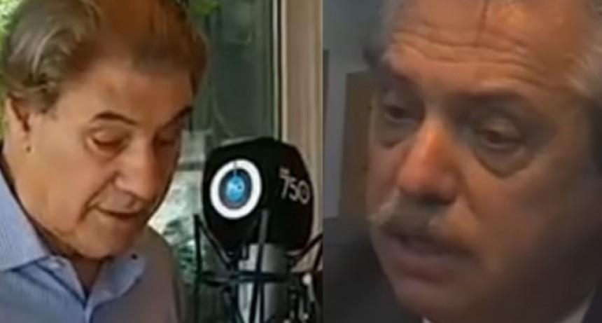 La dura crítica de Víctor Hugo Morales que impulsó al Presidente a llamar al periodista
