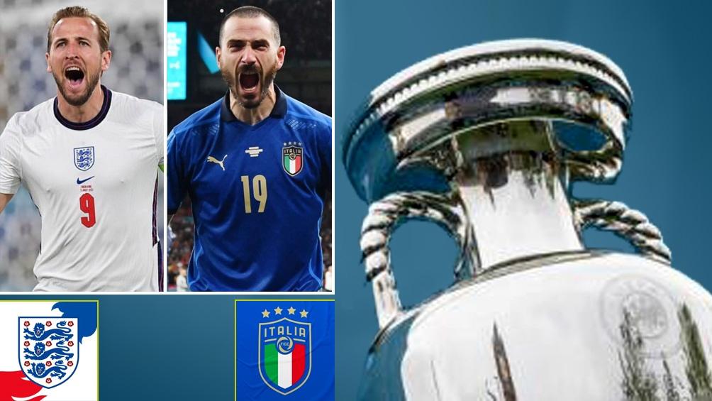 Inglaterra e Italia definen en Wembley al campeón de la Eurocopa