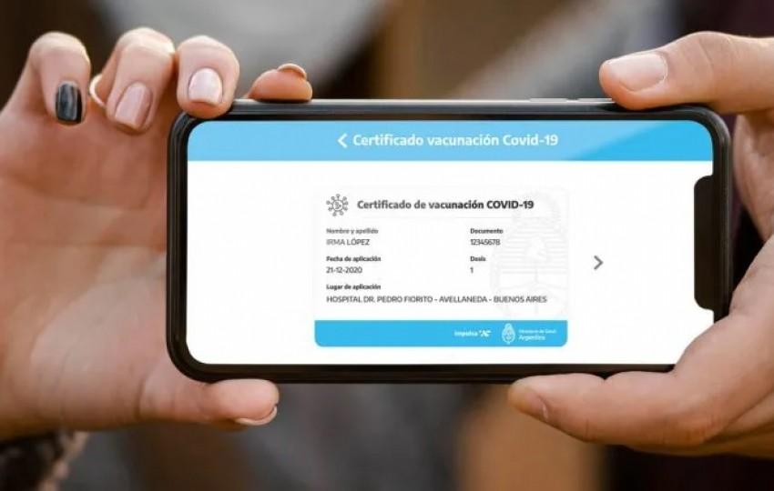 Ya se encuentra disponible el certificado de vacunación digital: el paso a paso de cómo obtenerlo