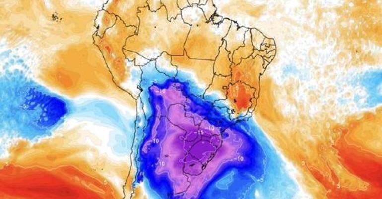 La ola de frío puede ser la más intensa del siglo con temperaturas por debajo de 0°