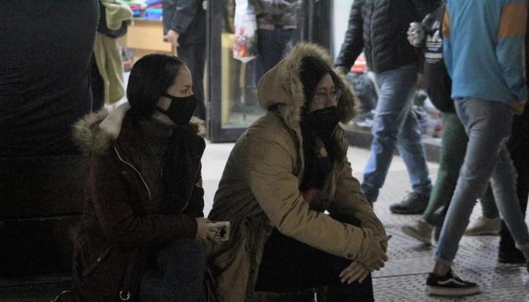 Nueva alerta violeta por el regreso del frío, con temperaturas bajo cero