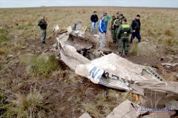 Santo Tomé: hallaron una avioneta siniestrada con sus ocupantes muertos
